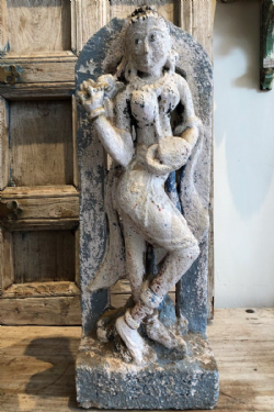 Sculpture of a Dancing Goddess, Late 19th Century <b>SOLD<b>